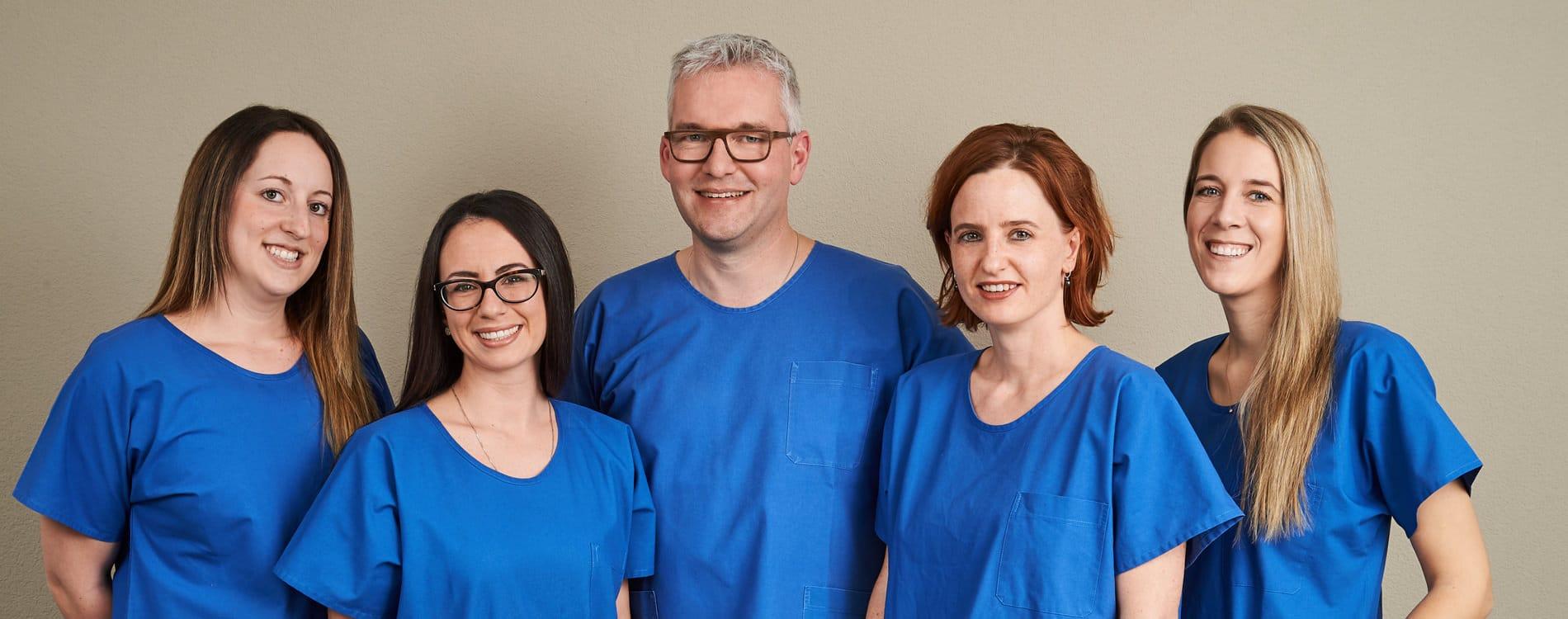 PD Dr. med. Dr. med. dent. Heinz-Theo Lübbers Team